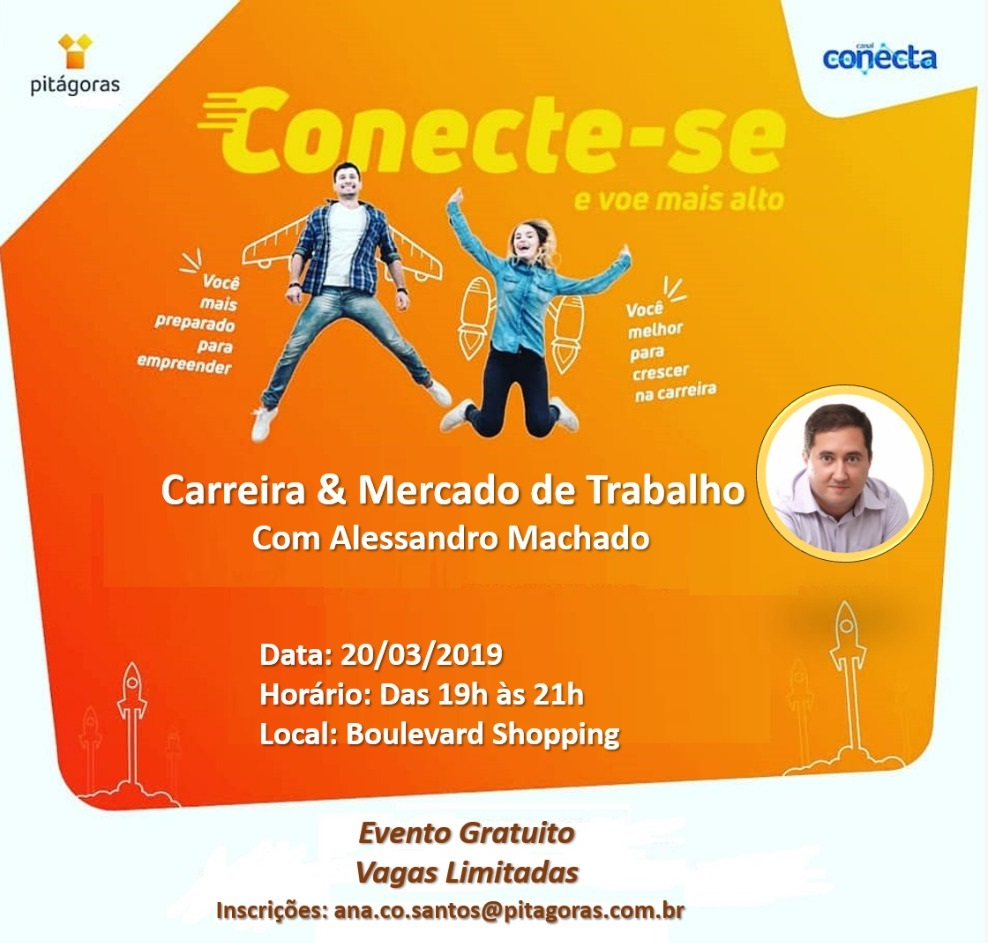 Palestra gratuita sobre Carreira acontece no Boulevard Shopping Camaçari 1