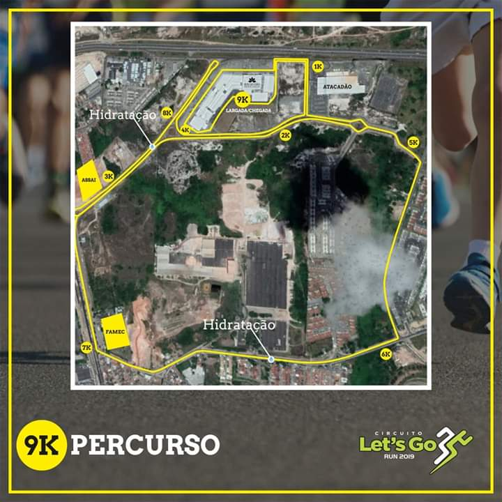 10ª edição do Circuito Let's Go Run acontece neste domingo em Camaçari 2