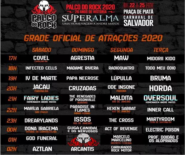 Carnaval: de Camaçari, banda Covel se apresenta no Palco do Rock; espaço terá quatro dias de shows 2